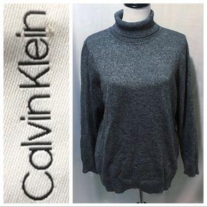 Exc Cond ~ Calvin Klein Turtleneck Sweater - 1X